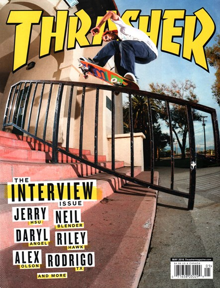 Thrasher Cover - 5/1/2016