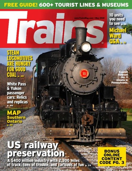 Trains Cover - 5/1/2016
