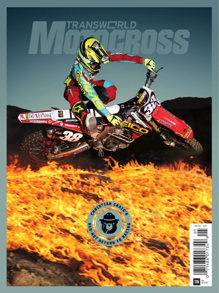 Transworld Motocross Cover - 5/1/2016