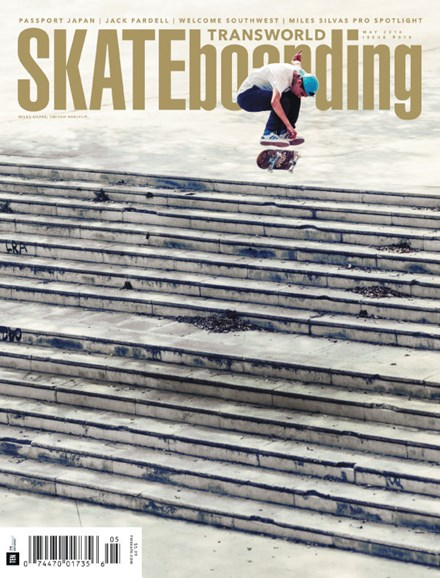 Transworld SKATEboarding Cover - 5/1/2016