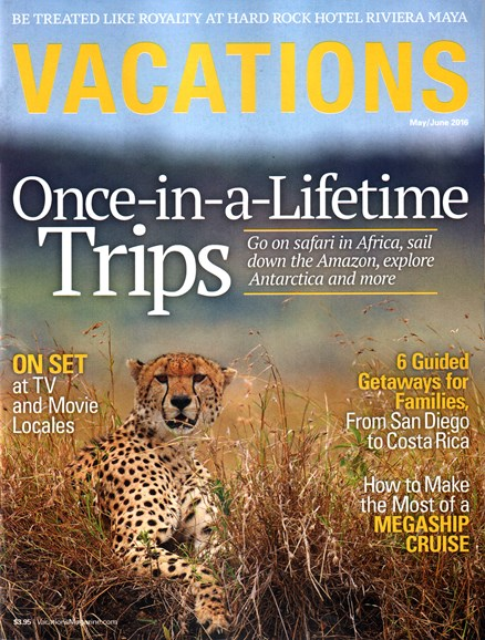 Vacations Cover - 5/1/2016