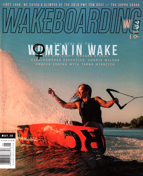 Wake Boarding Cover - 5/1/2016