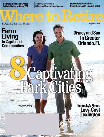 Where To Retire Cover - 5/1/2016