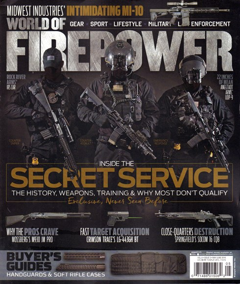 World of Firepower Cover - 5/1/2016