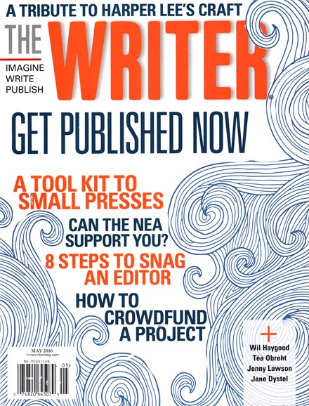 The Writer Cover - 5/1/2016
