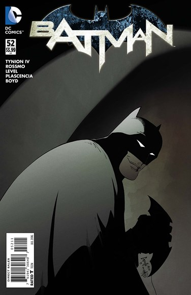 Batman Cover - 7/1/2016