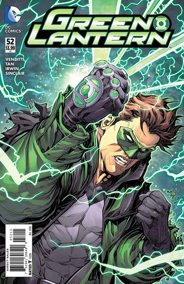 Green Lanterns Cover - 7/1/2016