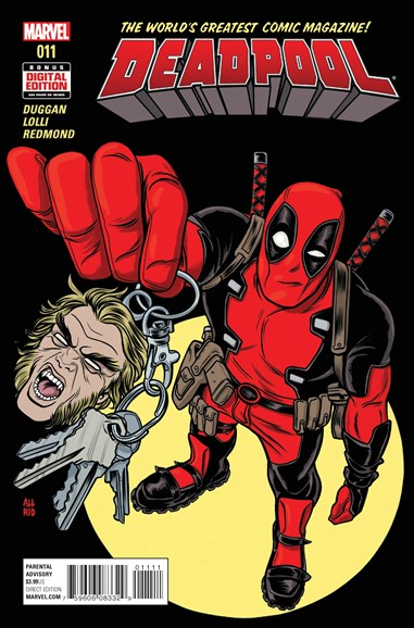 Deadpool Cover - 7/1/2016