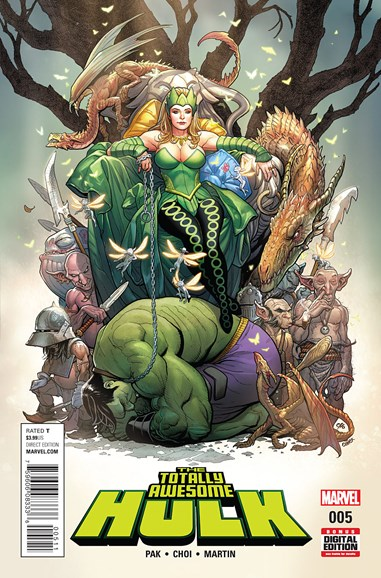 Immortal Hulk Cover - 6/1/2016