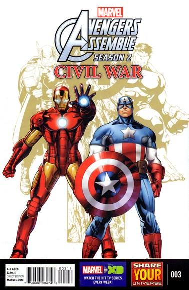 Marvel Universe Avengers Assemble Cover - 7/1/2016