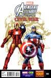 Marvel Universe Avengers Assemble | 7/1/2016 Cover