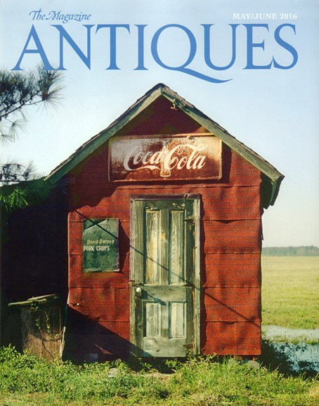 The Magazine Antiques Cover - 5/1/2016