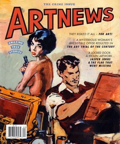 ARTnews Cover - 6/1/2016