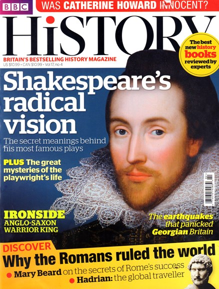 BBC History Cover - 4/1/2016