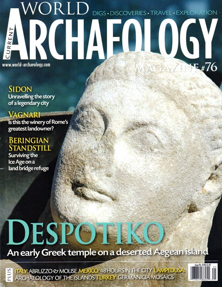 Current World Archaeology Cover - 4/1/2016
