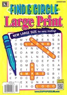 Find and Circle Large Print Magazine 8/1/2016