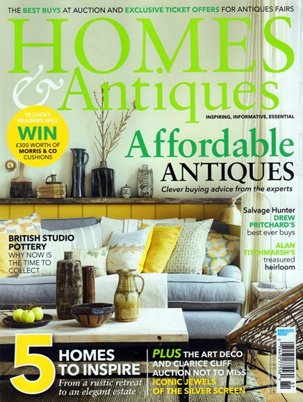Homes & Antiques Cover - 5/1/2016