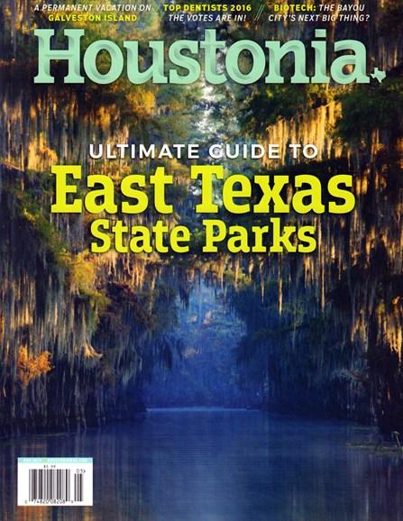 Houstonia Cover - 5/1/2016