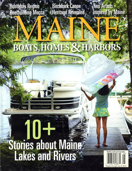 Maine Boats, Homes & Harbors Cover - 5/1/2016
