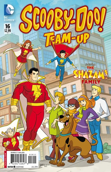 Scooby- Doo Team Up Cover - 7/1/2016