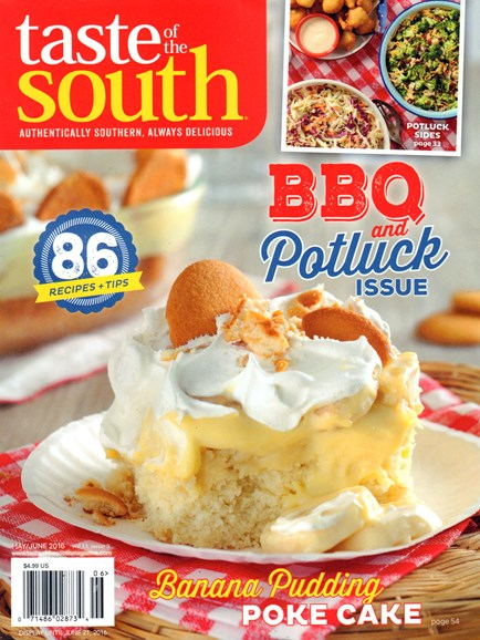 Taste of the South Cover - 5/1/2016