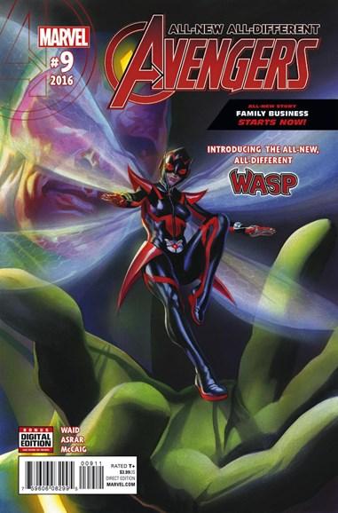 Avengers Cover - 7/1/2016