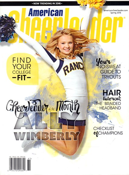 American Cheerleader Cover - 3/1/2016