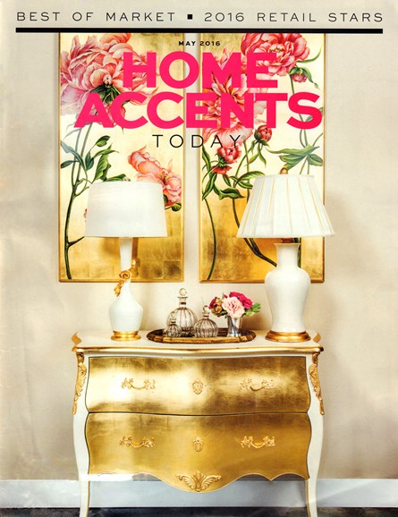 Home Accents Today Cover - 5/1/2016
