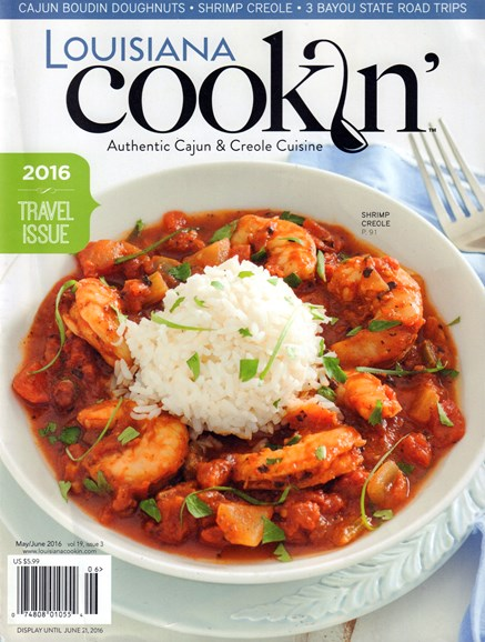 Louisiana Cookin' Cover - 5/1/2016