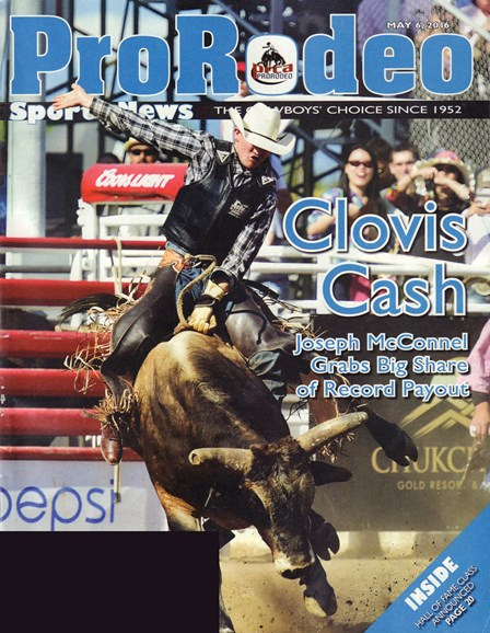 Pro Rodeo Sports News Cover - 5/6/2016