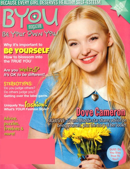 BYOU 'Be Your Own You!' Cover - 5/1/2016
