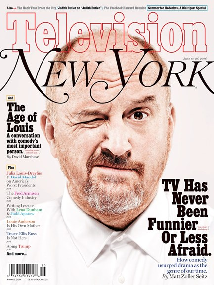 New York Magazine Cover - 6/13/2016