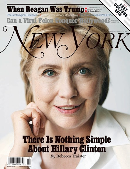 New York Magazine Cover - 5/30/2016