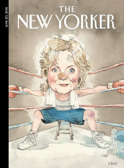 The New Yorker Cover - 6/20/2016