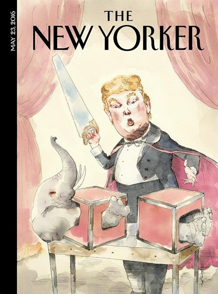 The New Yorker Cover - 5/23/2016