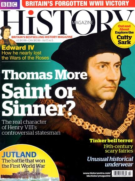 BBC History Cover - 5/1/2016