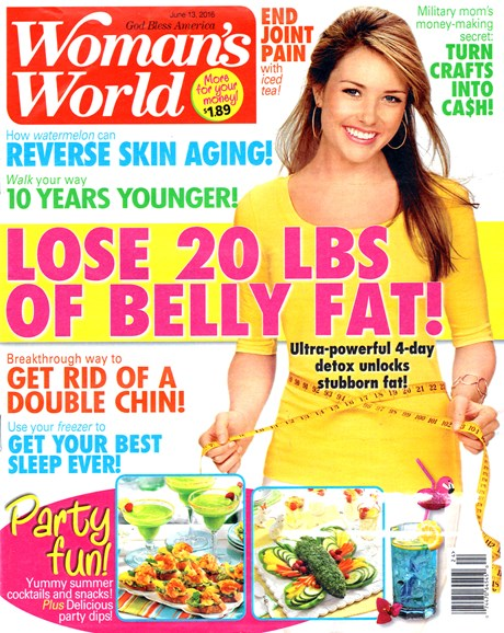 Woman's World Cover - 6/13/2016