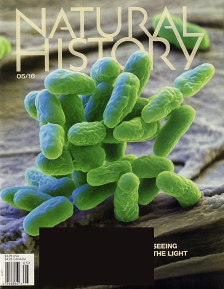 Natural History Cover - 5/1/2016