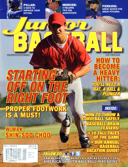 Junior Baseball Cover - 5/1/2016