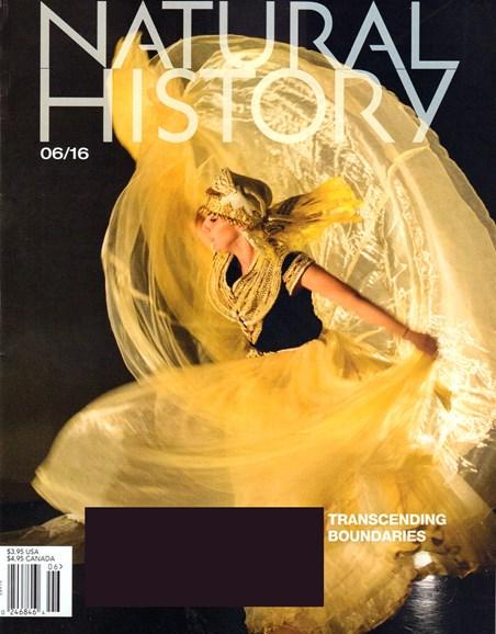 Natural History Cover - 6/1/2016