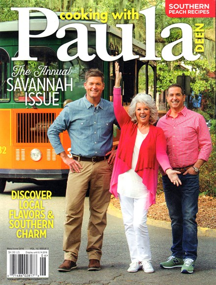 Cooking With Paula Deen Cover - 5/1/2016