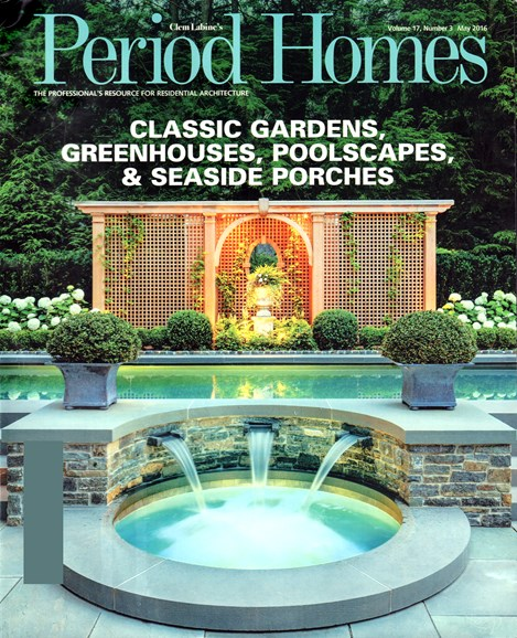 Period Homes Cover - 5/1/2016