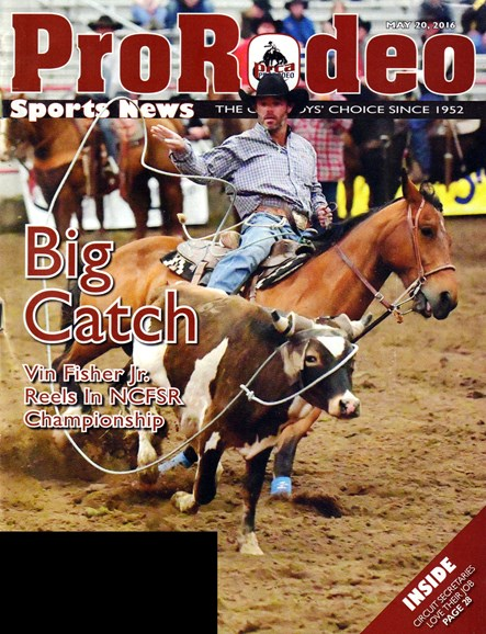 Pro Rodeo Sports News Cover - 5/20/2016