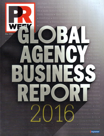 PRWeek Cover - 5/1/2016
