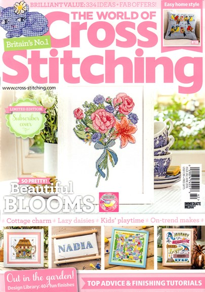 The World of Cross Stitching Cover - 6/1/2016
