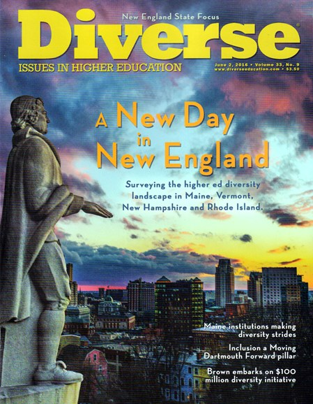 Diverse: Issues In Higher Education Cover - 6/2/2016