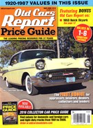 Old Cars Report Price Guide 5/1/2016
