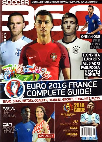 Soccer 360 Cover - 5/1/2016