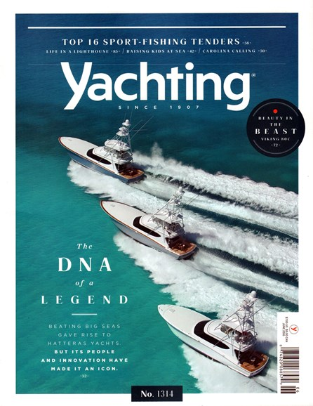 Yachting Cover - 6/1/2016