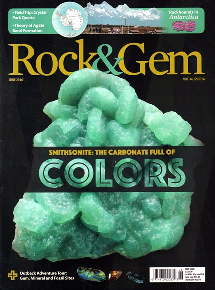 Rock & Gem Cover - 6/1/2016